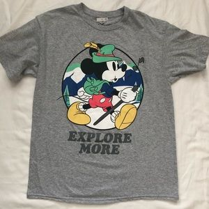 Disney Mickey Mouse T Shirt Sz L